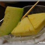 あがさ - 食後のフルーツ