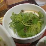ニャーヴェトナム・フォー麺 - サラダです。麺に後のせするそうですよ