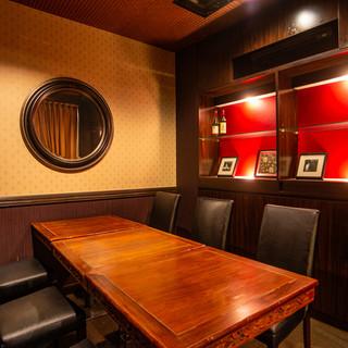 【テーブル半個室】カーテンで仕切ることができるお部屋は、女子会に最適♥