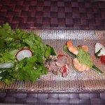 9423806 - 海の幸・山の幸の前菜の盛合せ