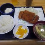 串鳥 - ミルフィーユ牛カツ定食