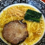 中村屋アットウエストパークカフェ - 塩ラーメン 700円 2011.09