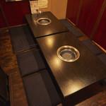本格焼肉 寿香苑 あまつぼ - 8名様までの宴会向け個室。