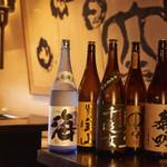 本格焼肉 寿香苑 あまつぼ - 焼酎の取り揃えも豊富です。