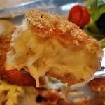 つばめグリル - [料理] 帆立のクリームコロッケ ひと口大 アップ♪w
