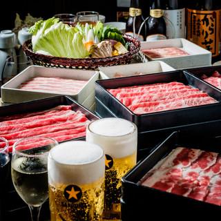 【食べ飲み放題】こだわりのお肉と30種類以上のドリンク