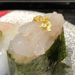 金沢まいもん寿司 - 富山白えび軍艦