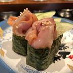 金沢まいもん寿司 - 「赤貝ひも軍艦」360円