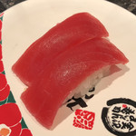金沢まいもん寿司 - 「めばちまぐろ」240円