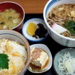 富士見屋 - ホタテ丼セット 1,200円