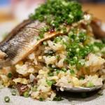 94247674 - 秋刀魚チャーハン