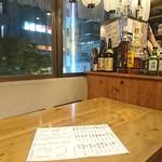 日本酒バル 蔵よし - 3階の窓際の席です