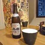 日本酒バル 蔵よし - おビールは陶器の器です