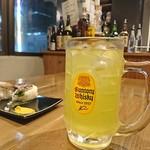 日本酒バル 蔵よし - 緑茶ハイ