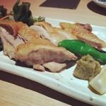 【肉】博多地鶏焼き