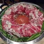 水面月 - 栗豚の鍋(2人前)