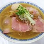 中華そば しば田 - 【煮干しそば + 味付け玉子】¥921 + ¥121