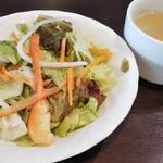 いきなりステーキ - サラダとスープ