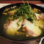 こうりん - 料理写真:鮮魚のだし茶漬け(鯛)