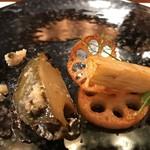 レストラン ラリューム - 黒鮑が実に上質な味わいと食感
