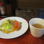 94259718 - 日替わりサラダとスープ