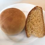 レストランゼルコバ - 塩パンとトウモロコシのパン