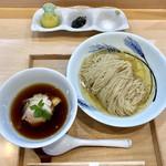 94262726 - 「つけ麺(濃厚昆布鰹水出汁)」1000円
