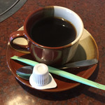 短角亭 - セットのコーヒー