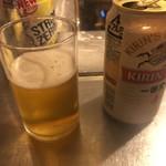 3ちゃん屋 - 缶ビール