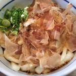 七越茶屋 - 料理写真:伊勢うどん(花かつお)