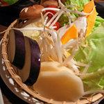 ラムダイニング大倉山 - 焼き野菜盛り