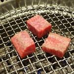 肉の匠 将泰庵 - 遠赤外線のコンロ