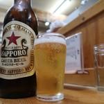 もつ焼 でん - 瓶ビール