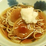 木山 - 天然ナメタケの蕎麦