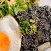 オキナワンパーラー - 料理写真:イカスミジューシー