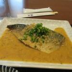 はじめの一歩 - 自慢の鯖を使った味噌煮は大きな対馬産の天然鯖が使ってあってボリュームたっぷりでした。  お御馳走さまでした。