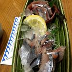 おけしょう鮮魚の海中苑 - サンマ刺身