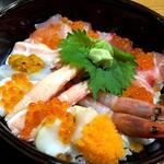 おけしょう鮮魚の海中苑 - 海鮮丼 海