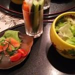 銀のくし - 料理写真: