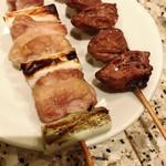 94281706 - ねぎ肉、ハツ