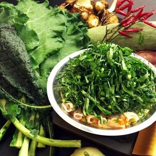 【オーガニック野菜食べ放題】ケール火鍋コースでご宴会