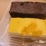 CAFE' DE ARCHE - 料理写真:ケーキセットのケーキ♪550円