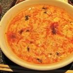 あみやき亭 - 激辛スープセット