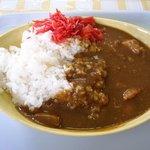 中野満点食堂 - ポークカレー(430円)安いねぇ♪