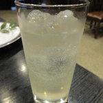 肉料理 阿蘇 - チュウハイ(レモン) 400円