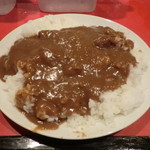 辛口料理 ハチ - カレーライス