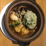 ソルトペッパー - 和風アボカドハンバーグ♬︎ 1300円...♪*゚土鍋で熱々グッツグツ〜♡