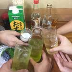 94308404 - 「富士屋本店さんお別れ会」乾杯の図
