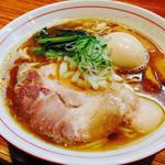 nibo - 料理写真:背脂煮干そば・味玉トッピング