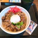 なか卯 - 料理写真:黒毛和牛丼
